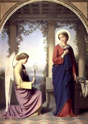 The Angelic Salutation, or The Annunciation