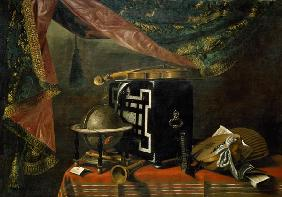 E.Baschenis / Still Life with Instrument
