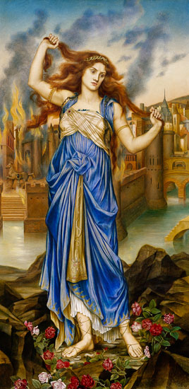 Evelyn De Morgan Oil Paintings