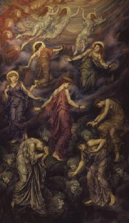 The Kingdom of Heaven Suffereth Violence - Evelyn De Morgan