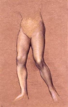 Figure Study (chalk on paper)