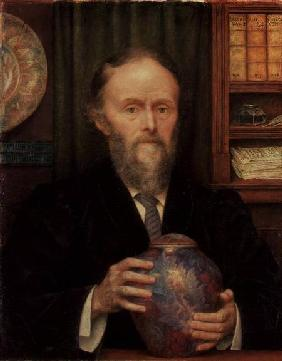 Portrait of William de Morgan (1839-)