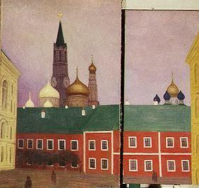 Moscow. 1913th Diptychon