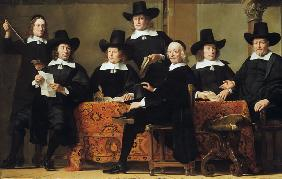 The abbots of the Amsterdam wine dealer guild