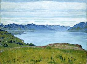Landscape at Lake Geneva