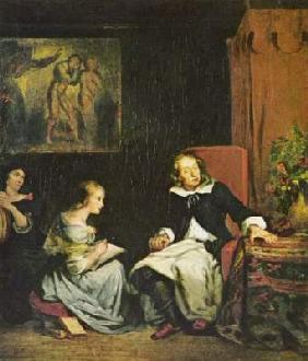 "Milton dictated ""Paradise Lost"" to his daughters"