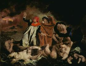 Dante and Virgil in the hell (or: The Dante skiff)