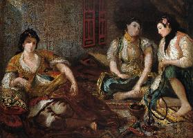 Three Arab Mesdames Studie to the oil painting