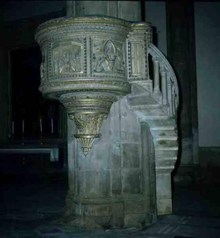 Pulpit Filippo Brunelleschi As Art Print Or Hand Painted