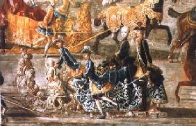 The Imperial Sleigh Ride on the occasion of the marriage of Emperor Joseph II of Austria to his 2nd