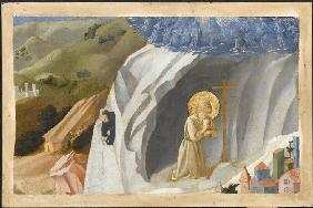 Saint Benedict Tempted in the Wilderness