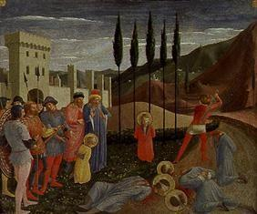 The martyrdom of the hll.Kosmas and Damian