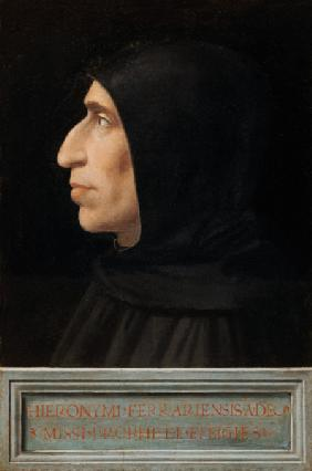 Portrait of Savonarola (panel)