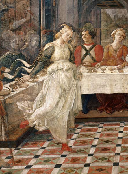 Salome Dancing At The Feast Of Herod De Fra Filippo