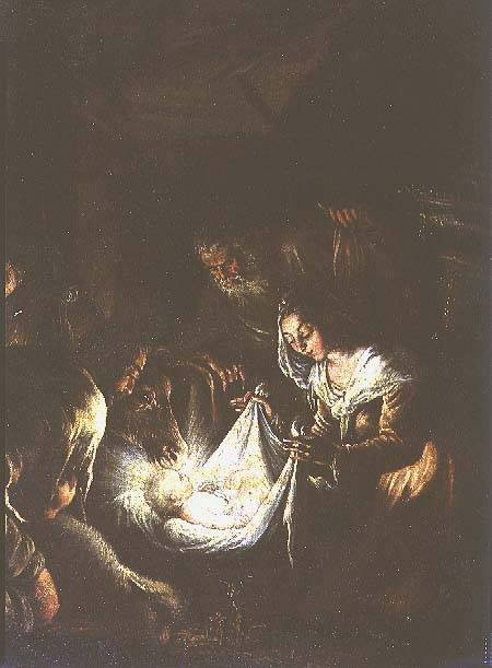 how two different artists showed the painting the adoration of the shepherds differently The adoration of the shepherds was painted numerous times by el greco  throughout his career (see  (1445 x 1013 cm) with added strips 64 1/2 x 42 in.