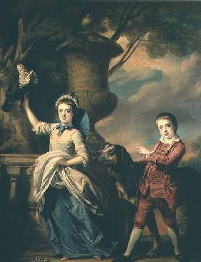 The Children of Sir Edward and Dame Ann Astley