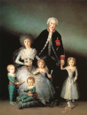 The Duke of Osuna and his Family