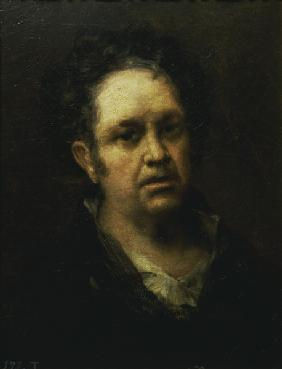 Self-portrait at age 69