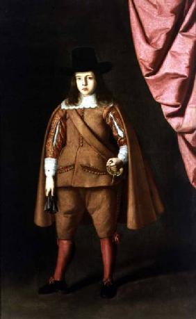 Portrait of a boy (The Duke of Medinaceli)