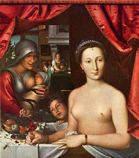 Lady in her Bath (Portrait of Diane de Poitiers)