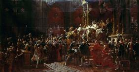 The Coronation of Charles X of France at Reims, May 29, 1825