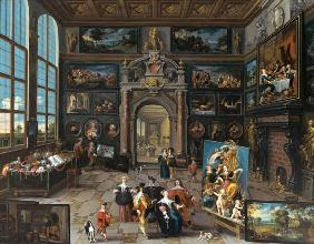 Gallery of a collector. (together with Cornelis de Baellieur)