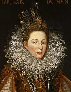 Portrait of Margaret Gonzaga, Duchess of Savoy