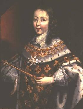 Portrait of Louis XIV (1638-1715) as a boy