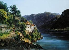 The Hallstatter Lake