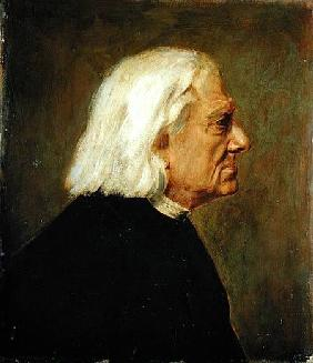The Composer Franz Liszt (1811-86)