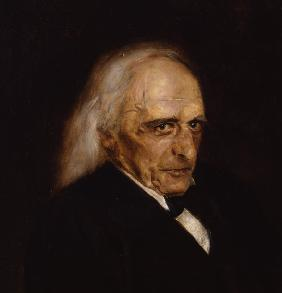Portrait of Theodor Mommsen (1817-1903) Detail