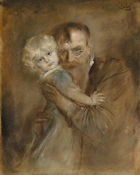 Self-portrait with Daughter Marion