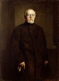 Portrait of Bismarck in civilian dress. Friedrichsruh