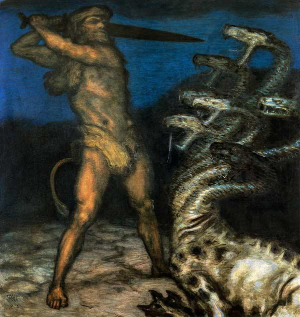 Hercules and the Hydra.