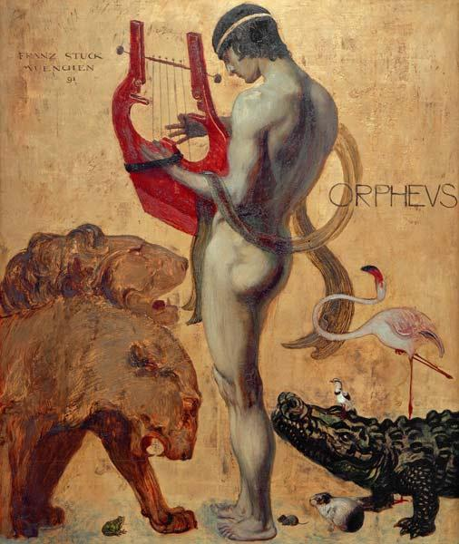 Orpheus by Franz von Stuck