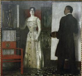 Self-Portrait w.wife