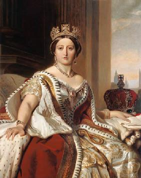Portrait of Queen Victoria (1819-1901)