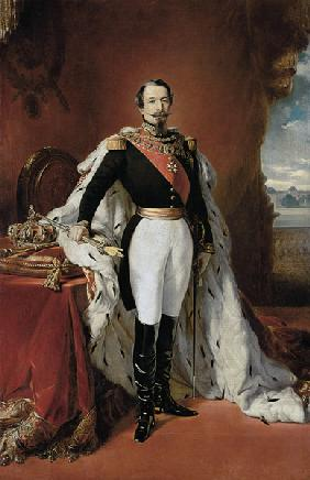 Portrait of Napoleon III (1808-73) Emperor of France