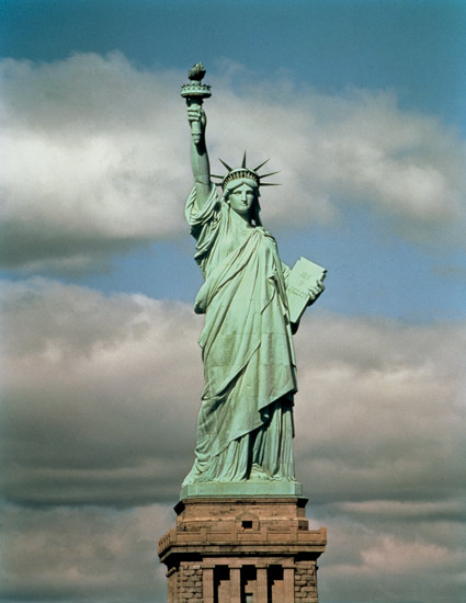 The Statue Of Liberty Frederic Auguste Bartholdi As Art