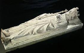 Effigy of King Robert II (c.970-1031) the Pious of France