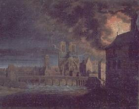 A Fire on the Ile Saint-Louis