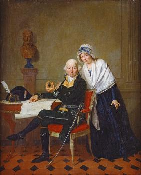 The Parents of Jean Andoche Junot (1771-1813) Duke of Abrantes