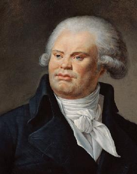 Portrait of Georges Danton (1759-94)