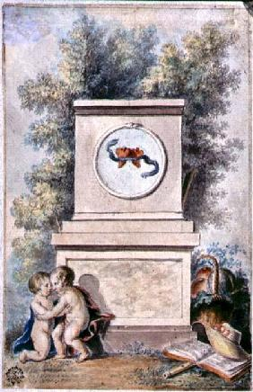Putti at the Monument of Love