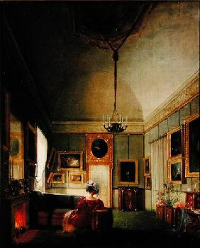 Salon of Hortense de Beauharnais (1783-1837) at Arenenberg