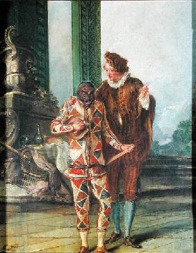 Scene from the Commedia dell'Arte