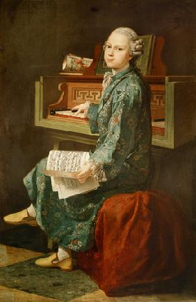 Young Man at the Clavichord