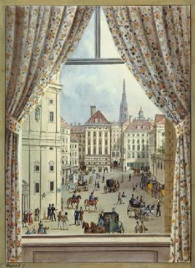 View of the Freyung, Vienna