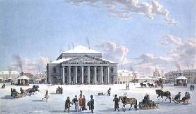 The Bolshoi Theatre, St. Petersburg