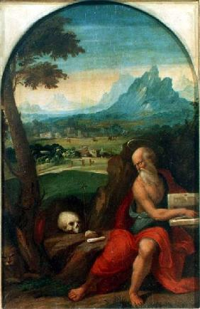 St. Jerome (panel)